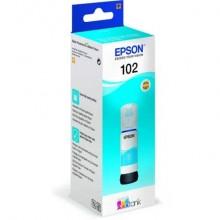 Serbatoio inchiostro 102 Epson ciano  C13T03R240