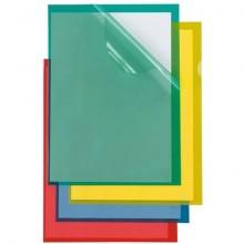 Cartelline a L in PP Sei Rota Poli 150 verde 25 pz. - 66232205