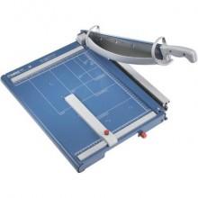 Taglierina a leva Dahle con pressino automatico blu luce 390-4 mm R000565