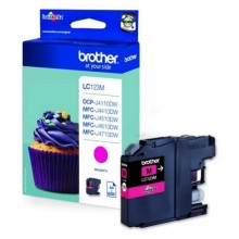 Cartuccia inkjet LC-123 Brother magenta  LC-123M