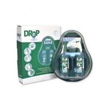 Stazione lavaggio oculare PVS verde  2 flaconi da 500 ml - cps202