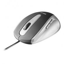 Mouse ottico a 5 tasti 1000 dpi Trust EasyClick grigio/nero 16535