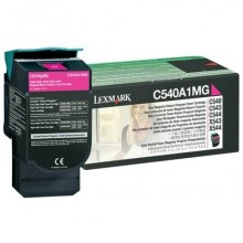 Toner return program Lexmark magenta  C540A1MG