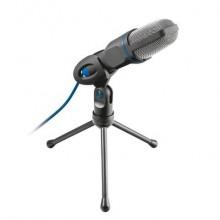 Microfono USB con cavo da 1,8 m Trust Mico nero 20378