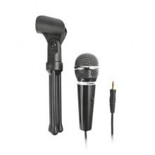 Microfono per PC con cavo da 2,5 m Trust Starzz nero 21671