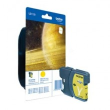 Cartuccia inkjet 1100 Brother giallo  LC-1100Y