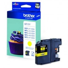 Cartuccia inkjet LC-123 Brother giallo  LC-123Y