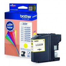 Cartuccia inkjet LC-223 Brother giallo  LC-223Y