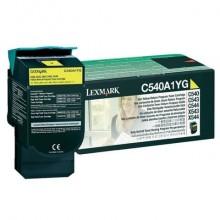 Toner return program Lexmark giallo  C540A1YG