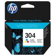 Cartuccia inkjet 304 HP 3 colori  N9K05AE