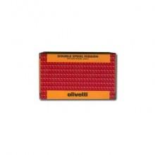 Nastro 2605/3NR Olivetti nero-rosso  80406
