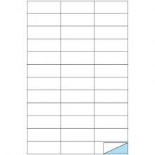 Etichette bianche MARKIN permanenti 70x25 mm senza margine conf. da 1200 etichette - X210C506