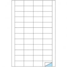 Etichette bianche MARKIN permanenti 48x24,75 mm con margine conf. da 4800 etichette - X210C530