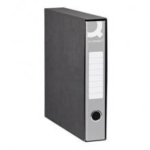Registratore commerciale Q-Connect con custodia dorso 5 cm grigio 23x30 cm - 0201990/QM.GR (Conf.8)