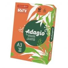 Carta colorata A3 INTERNATIONAL PAPER Rey Adagio arancio 21 risma 250 fogli - ADAGI160X504