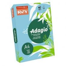 Carta colorata A4 INTERNATIONAL PAPER Rey Adagio blu tenue 48 risma 500 fogli - ADAGI080X623