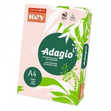 Carta colorata A4 INTERNATIONAL PAPER Rey Adagio 80 g/m² rosa risma 500 fogli - ADAGI080X643