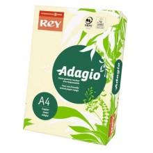 Carta colorata A4 INTERNATIONAL PAPER Rey Adagio 160 g/m² avorio risma da 250 fogli - ADAGI160X475