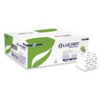 Carta igienica interfogliata Lucart Eco 210 l 2 veli 40 conf da 210 foglietti - 811A77