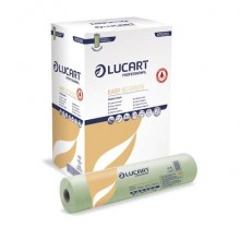 Lenzuolino medico Lucart Easy 81 Green - 80 m 2 veli 216 strappi - 870090U
