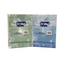 Carta uso bollo A4 Form gr.80/mq Laser con righe orizzontali bianca/grigia  Risma da 500 - 0456100B