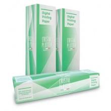 Rotoli carta plotter Rotolificio Pugliese pura cellulosa opaca Cristal 90 g/mq 106,7 cm x 50m cf. 4 pezzi D106P49