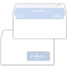 Buste con finestra Pigna Envelopes Silver90 Laser patella chiusa 110x230 mm bianco  conf. 500 - 0220921