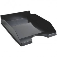 Vaschetta portacorrispondenza Exacompta ECOTRAY EcoBlack plastica A4+ nero 123014D