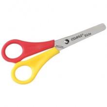 Forbici per mancini Dahle New Eco Home per bambini acciaio inox giallo/rosso 13 cm - R054615