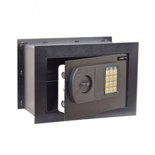 Cassaforte da muro i.DEKT con chiusura elettronica + 2 chiavi d'emergenza nero mm. 330x200x230 - SSWHFE