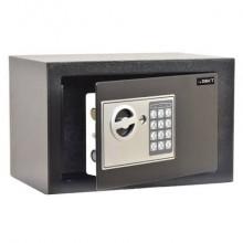 Cassaforte di sicurezza i.DEKT con chiusura elettronica + 2 chiavi d'emergenza nero mm. 310x200x200