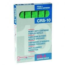 Caricatori per cucitrice Turikan CRS-10 verde h. 10mm capacità 40-55 fogli conf. 5