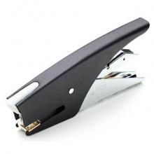 Cucitrice manuale a pinza ad avancarica CLASS nero a punto chiuso e a punto aperto