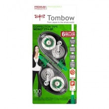 Correttore a nastro Tombow MONO Tape Control System 4,2 mm x 10 cm blister 2 pz. - CT-YT4-2P