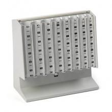 Distributore di monete EUROCOIN grigio mm. 250x104x170h 3430