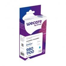 Cartuccia inkjet WECARE compatibile con Brother LC-1100C - ciano K12445W4