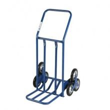 Carrello in acciaio Serena Group 60 x 60-80 x h. 118 cm blu HT0101