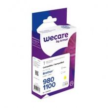 Cartuccia inkjet WECARE compatibile con Brother LC-1100Y - giallo K12447W4