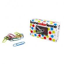 Fermagli Leonecolor in filo colorato metallizzato N. 4 Assortiti scatola da 50 pz. - FX5