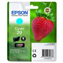 Cartuccia inkjet Fragola T29 Epson ciano  C13T29824012