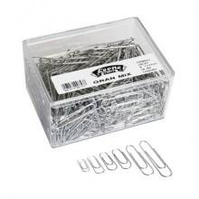 Fermagli Leone filo zincato ritrafilato Gran Mix misure assortite zinco brillante scatola da 500 g FZ500GMIX
