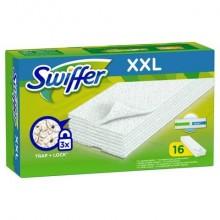 Kit di ricarica panni cattura polvere XXL  Swiffer verde conf.da 16 panni - PG015