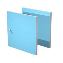 Libreria componibile Artexport Maxicolor - Set 2 antine Azzurro 2A-MaxC-A