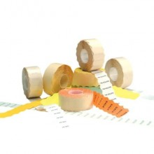 Etichette permamenti per prezzatrici Avery Dennison 12x26 mm 1 linea bianco Conf. da 10000 - FSR-10WP1226