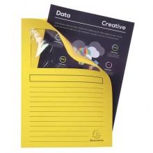 Cartelline con finestra Exacompta Forever® A4 cartoncino 120 g/m² giallo conf. da 100 - 50109E