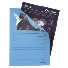 Cartelline con finestra Exacompta Forever® A4 cartoncino 120 g/m² azzurro conf. da 100 - 50106E