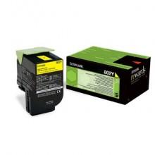 Toner return program 802Y Lexmark giallo  80C20Y0