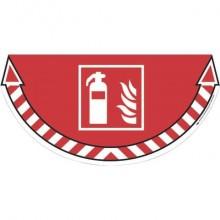 Adesivi Segnalatori CEP rischio elettrico PVC 700x350 mm. sp 0,2 mm rosso - 1701080151