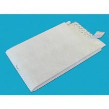 Buste a sacco con strip Tyvek Postyvek 55 g/m² bianco 30,5x40,6 cm conf. 100 pezzi - 0755