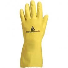 Guanto casalinghi Delta Plus Picaflor lattice giallo 30 cm taglia 6/7 - VE240JA06